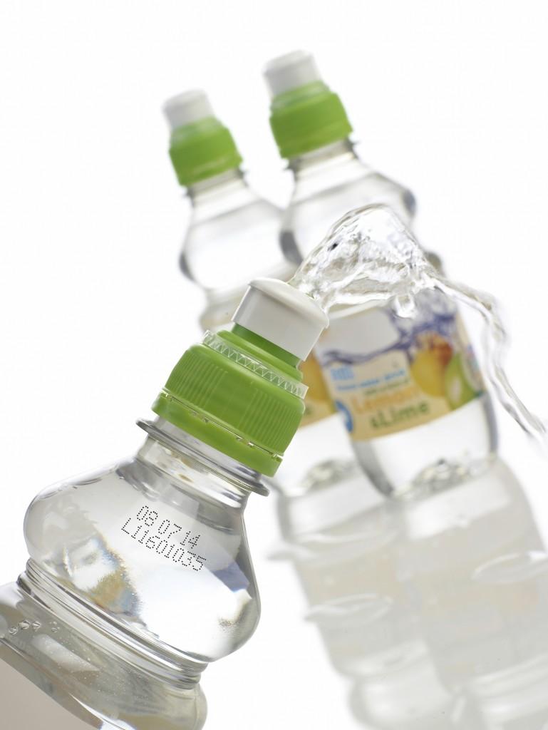 Ink jet on bottles