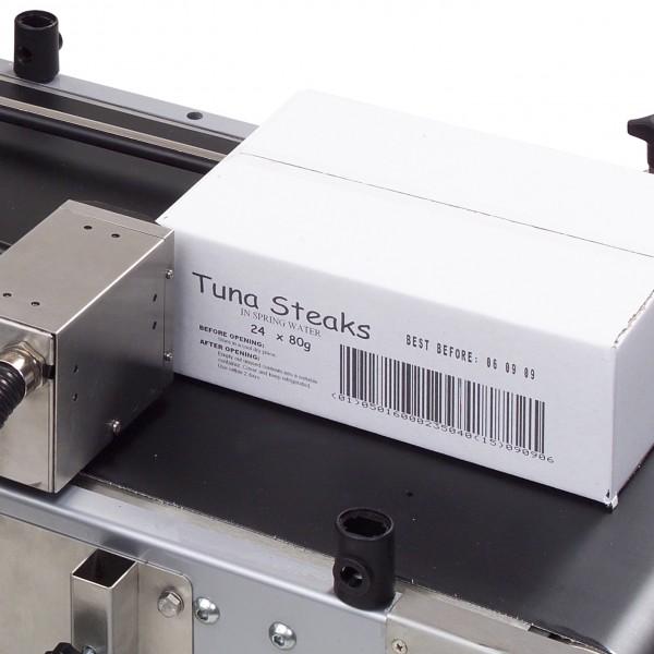 Carton printing with bar-codes