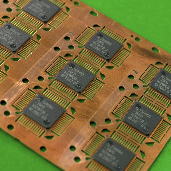 Laser on to circuit board